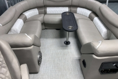 Gate Seat Filler Cushion of the 2021 Premier 250 Grand Majestic Tritoon Boat