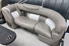 Grand Ultrafabric Furniture of the 2021 Premier 250 Grand Majestic Tritoon Boat