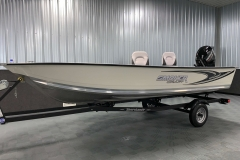 Shoreland'r Trailer of the 2021 Smoker Craft 16TL Angler Fishing Boat