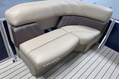 Built-In Cupholders of the 2021 Sylvan Mirage 8520 Cruise Pontoon Boat
