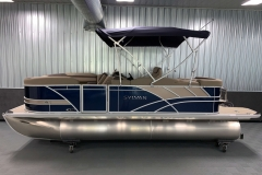 "25"" Pontoon Logs of the 2021 Sylvan L1 Cruise Pontoon Boat"