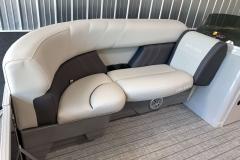 Rotocast Seat Bases on a 2021 Sylvan Mirage 8520 Cruise Pontoon Boat