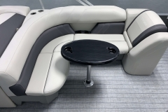 Wrap Around Seating of a 2021 Sylvan Mirage 8520 Cruise Pontoon Boat