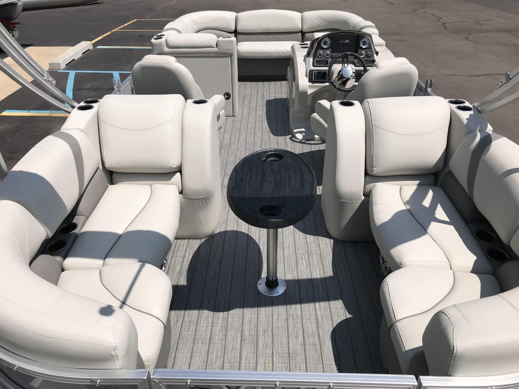 2019 Sylvan 8522 LZ LES Interior Cockpit Seating