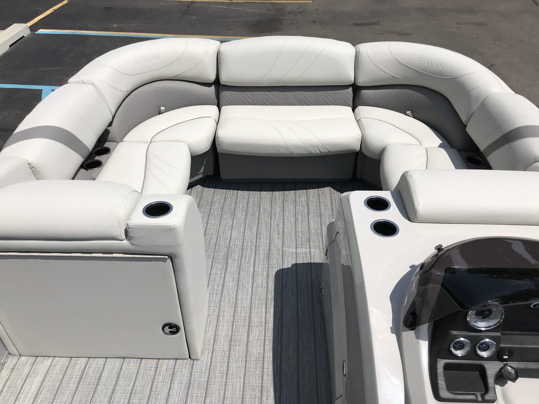 2019 Sylvan 8522 LZ LES Gate Seat Filler Cushion 2