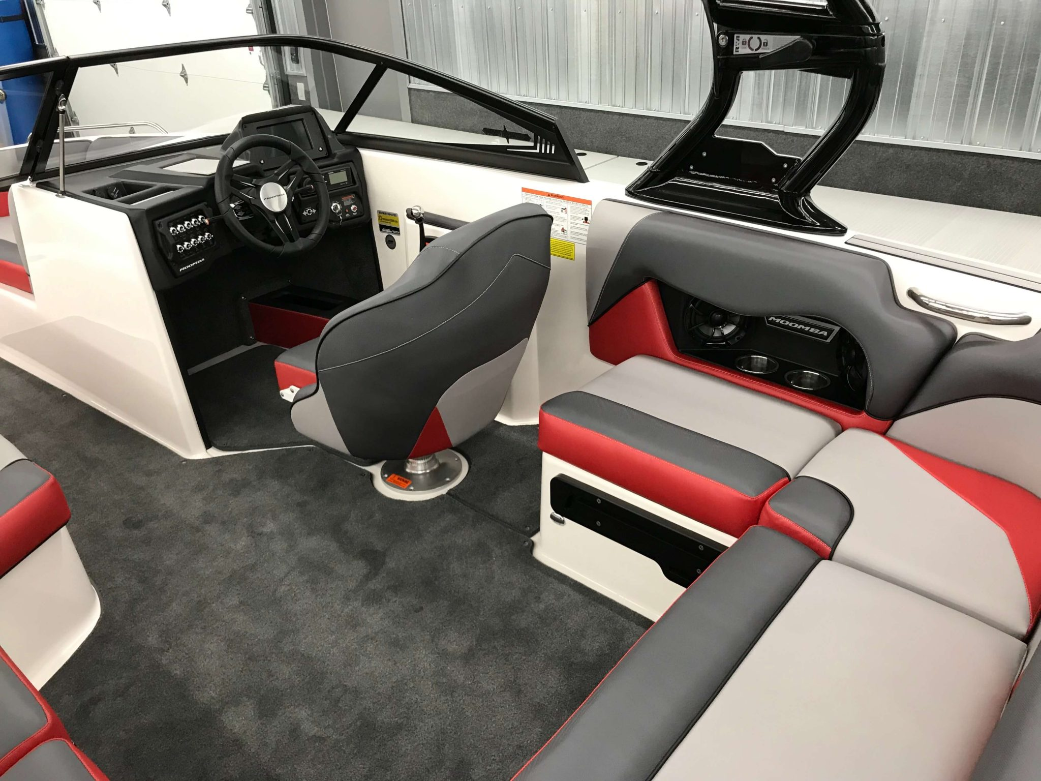 2019 Moomba Mondo Interior Seating 2