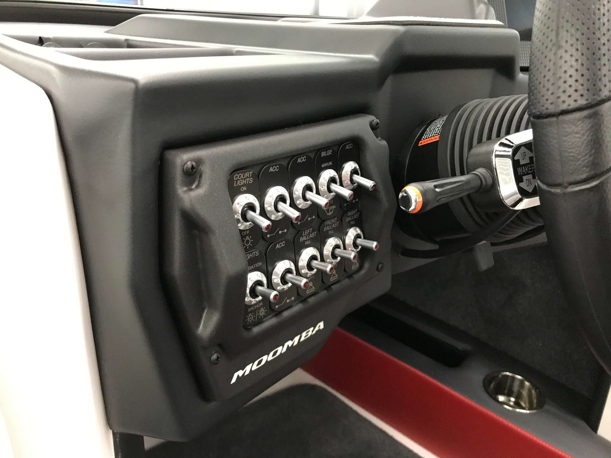 2019 Moomba Mondo Dash Toggle Switches