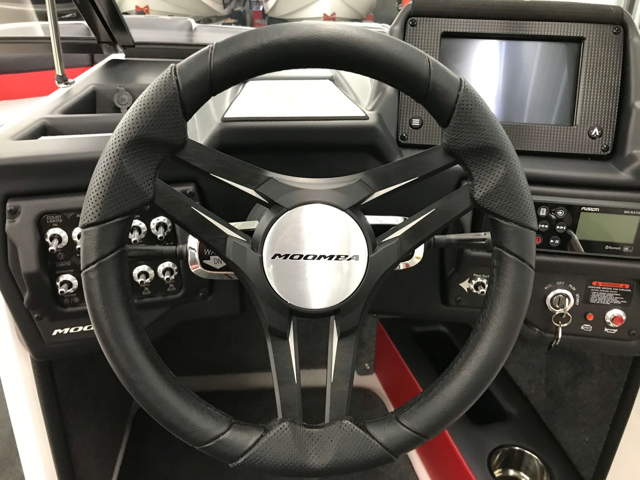 2019 Moomba Mondo Steering Wheel