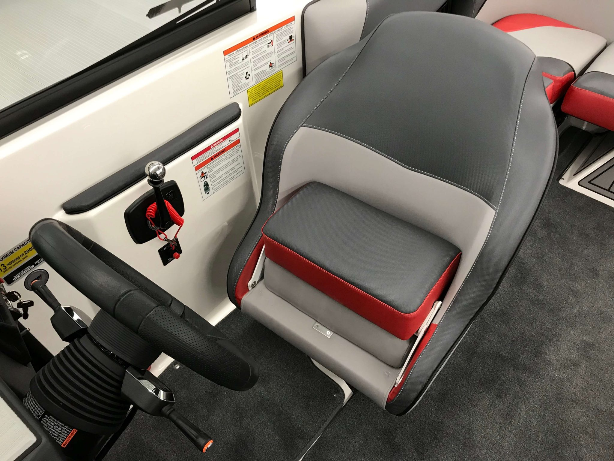 2019 Moomba Mondo Captains Helm Chair 2
