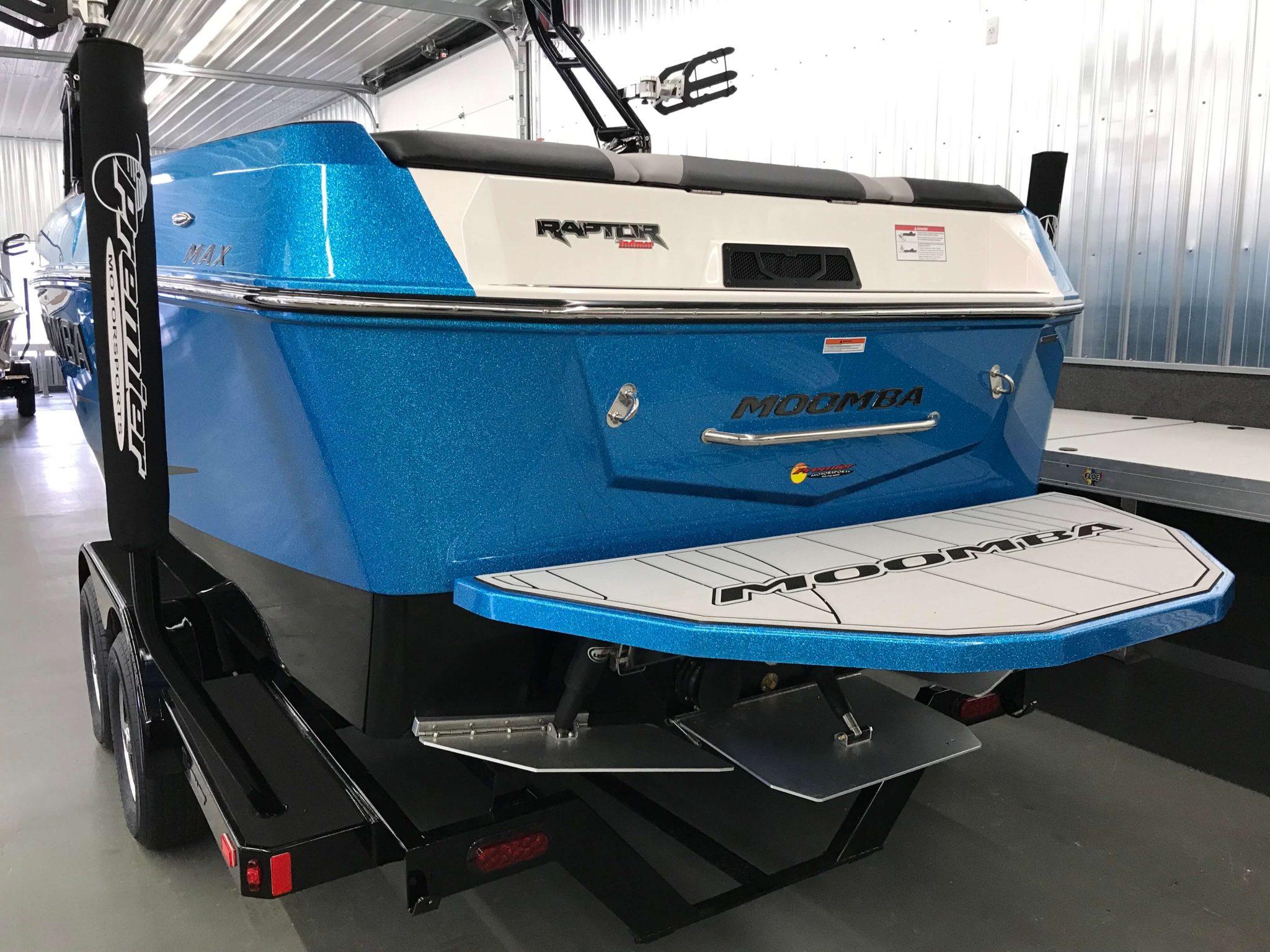 2019 Moomba Max Swim Platform 1