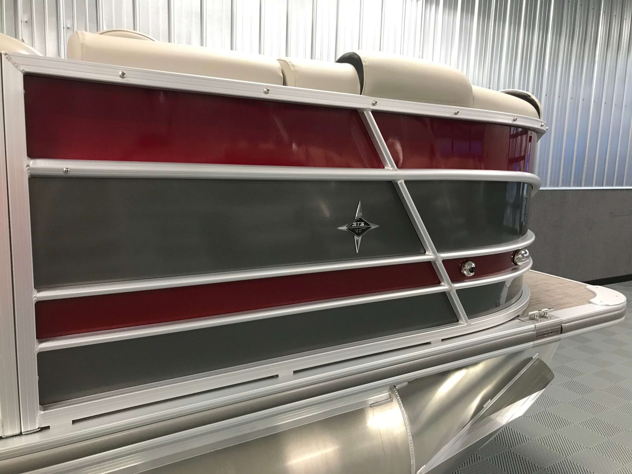 2019 Berkshire 23RFX STS Deluxe Burgandy And Charcoal 3