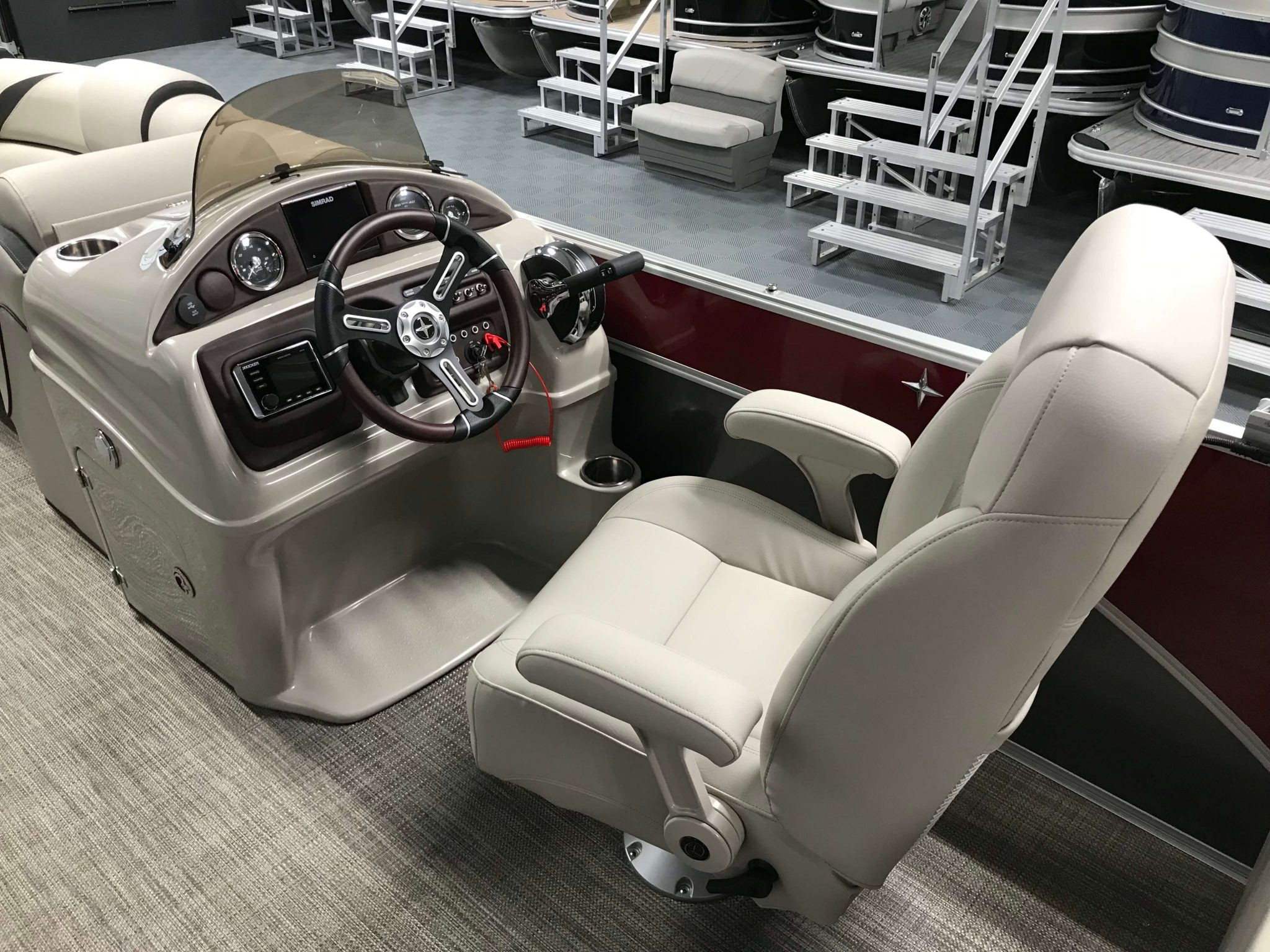 2019 Berkshire 23RFX STS Deluxe Helm And Captain's Chair