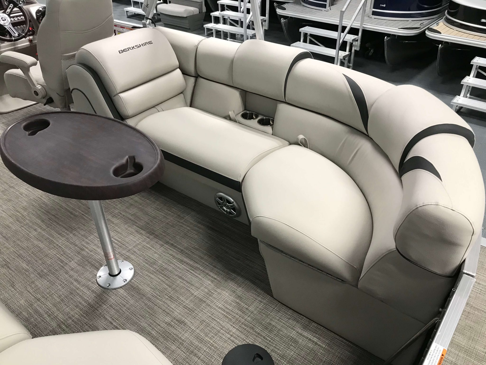 2019 Berkshire 23RFX STS Deluxe Interior Stern Seating 1