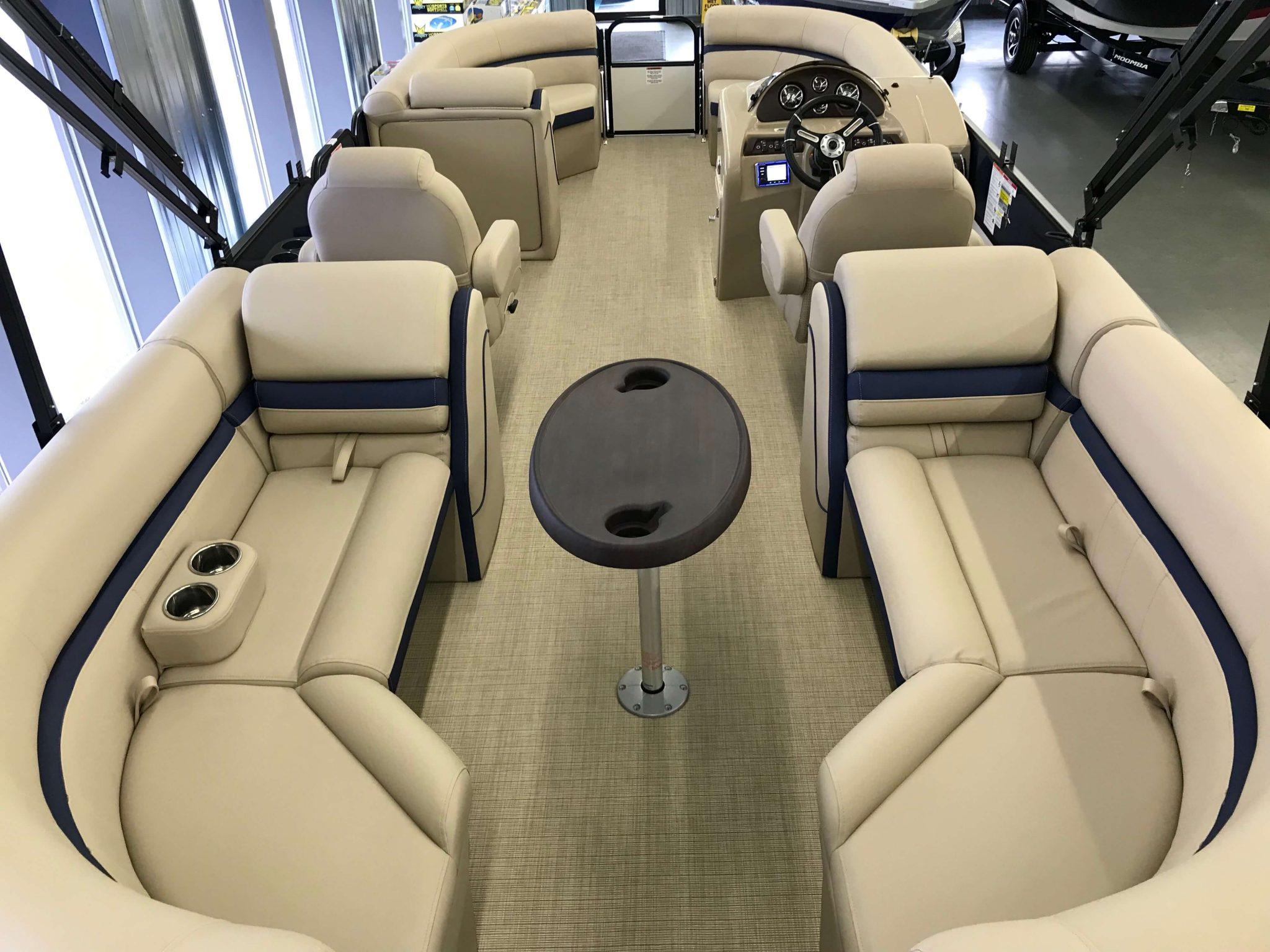 2019 Berkshire 24RFX CTS 3.0 Tritoon Interior Cockpit Layout 1