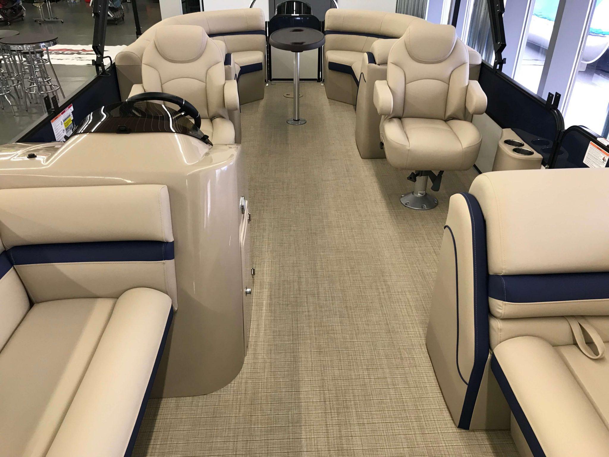 2019 Berkshire 24RFX CTS 3.0 Tritoon Interior Cockpit Layout 2