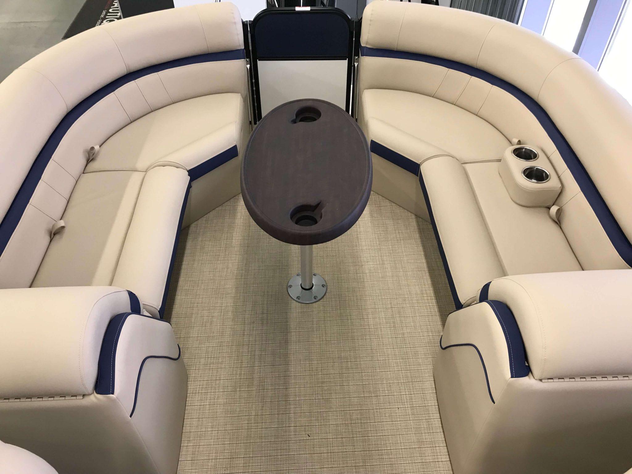 2019 Berkshire 24RFX CTS 3.0 Tritoon Interior Cockpit Seating 3