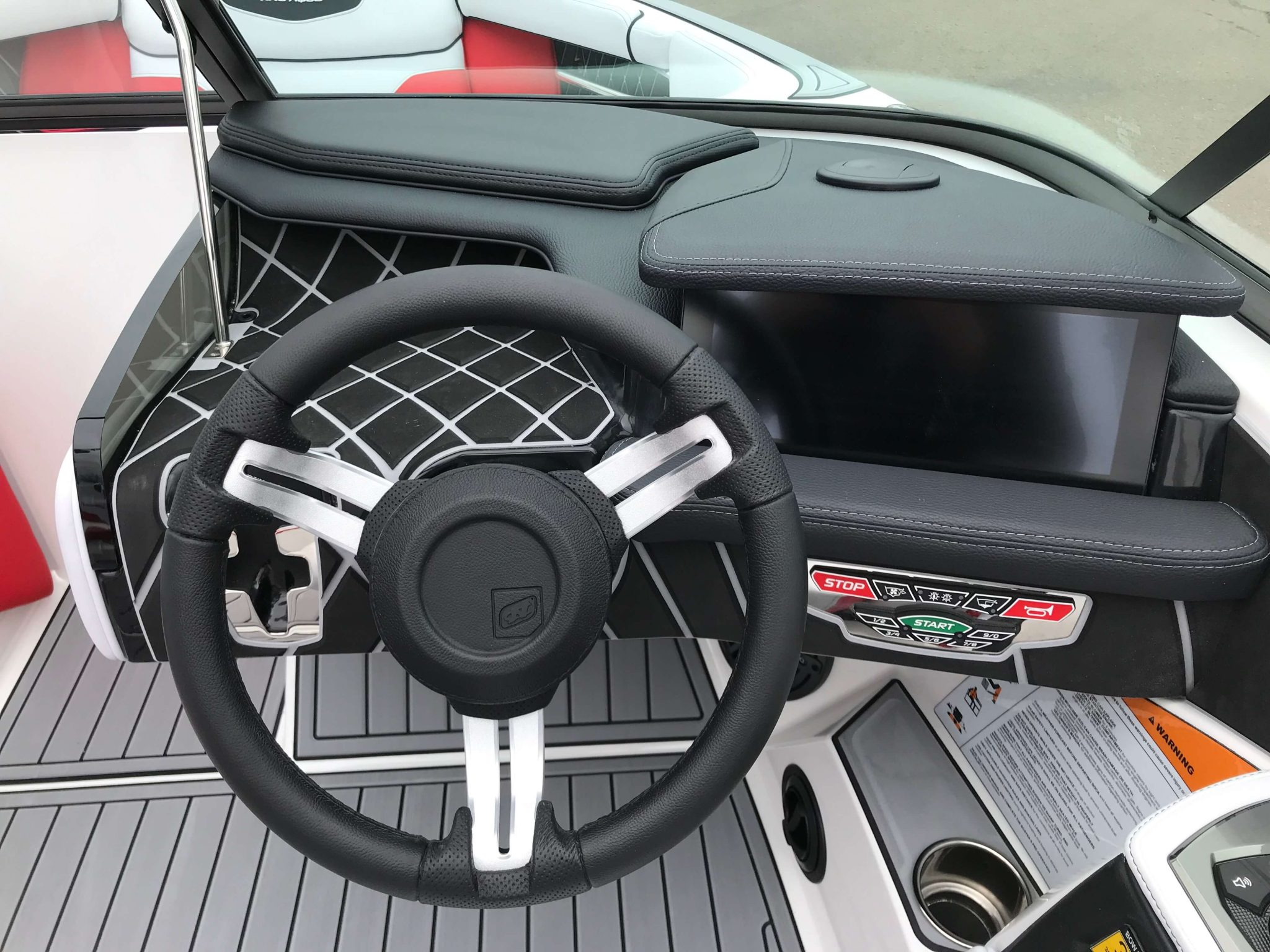 2019 Nautique GS20 Helm And Dash