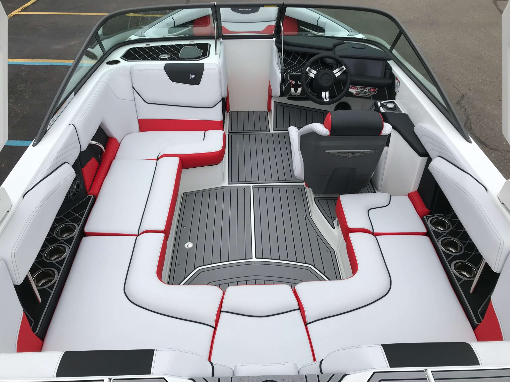2019 Nautique GS20 Interior Layout 1