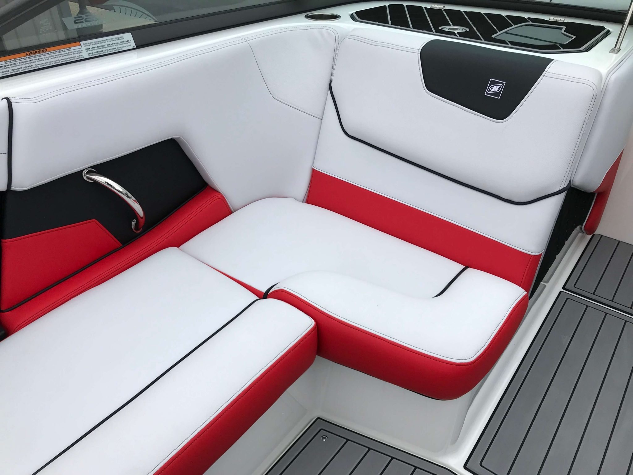 2019 Nautique GS20 Observer Seating