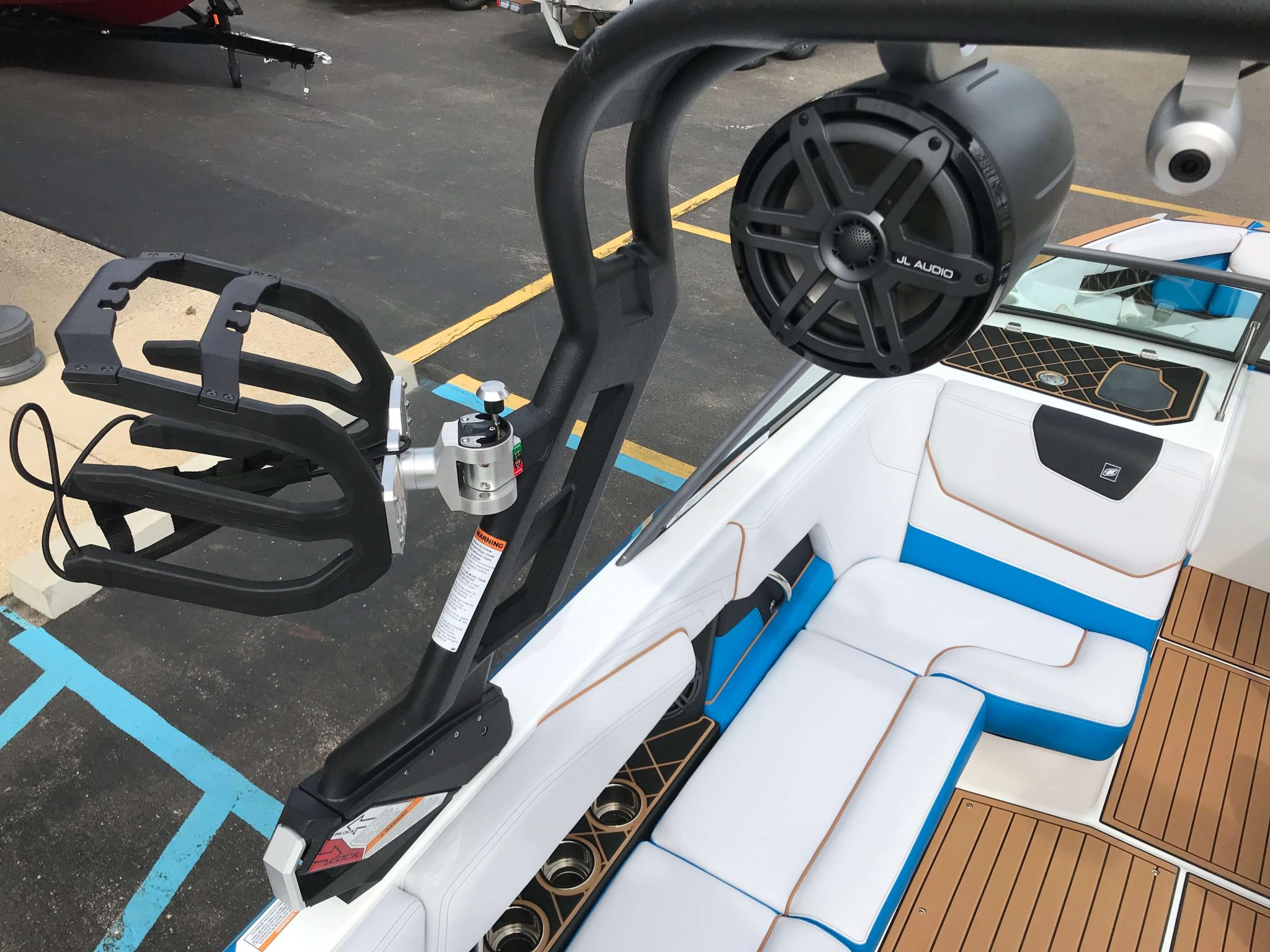 2019 Nautique GS20 Tower Speakers And Board Racks