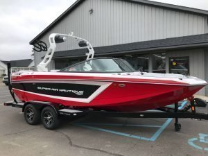 2019 Nautique GS20 Victory Red 1