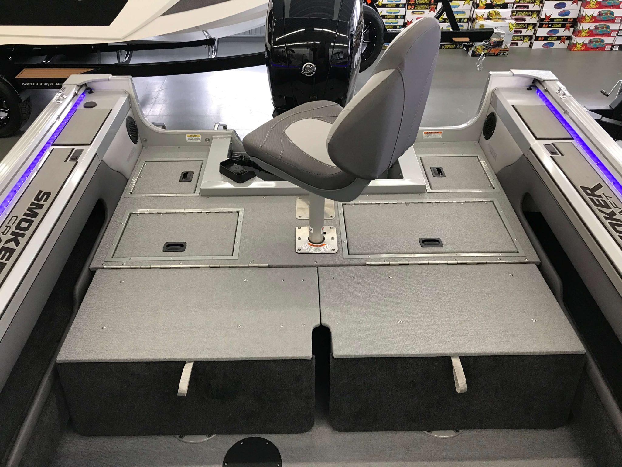 2019 Smoker Craft 182 Pro Angler XL Interior Cockpit Layout 3