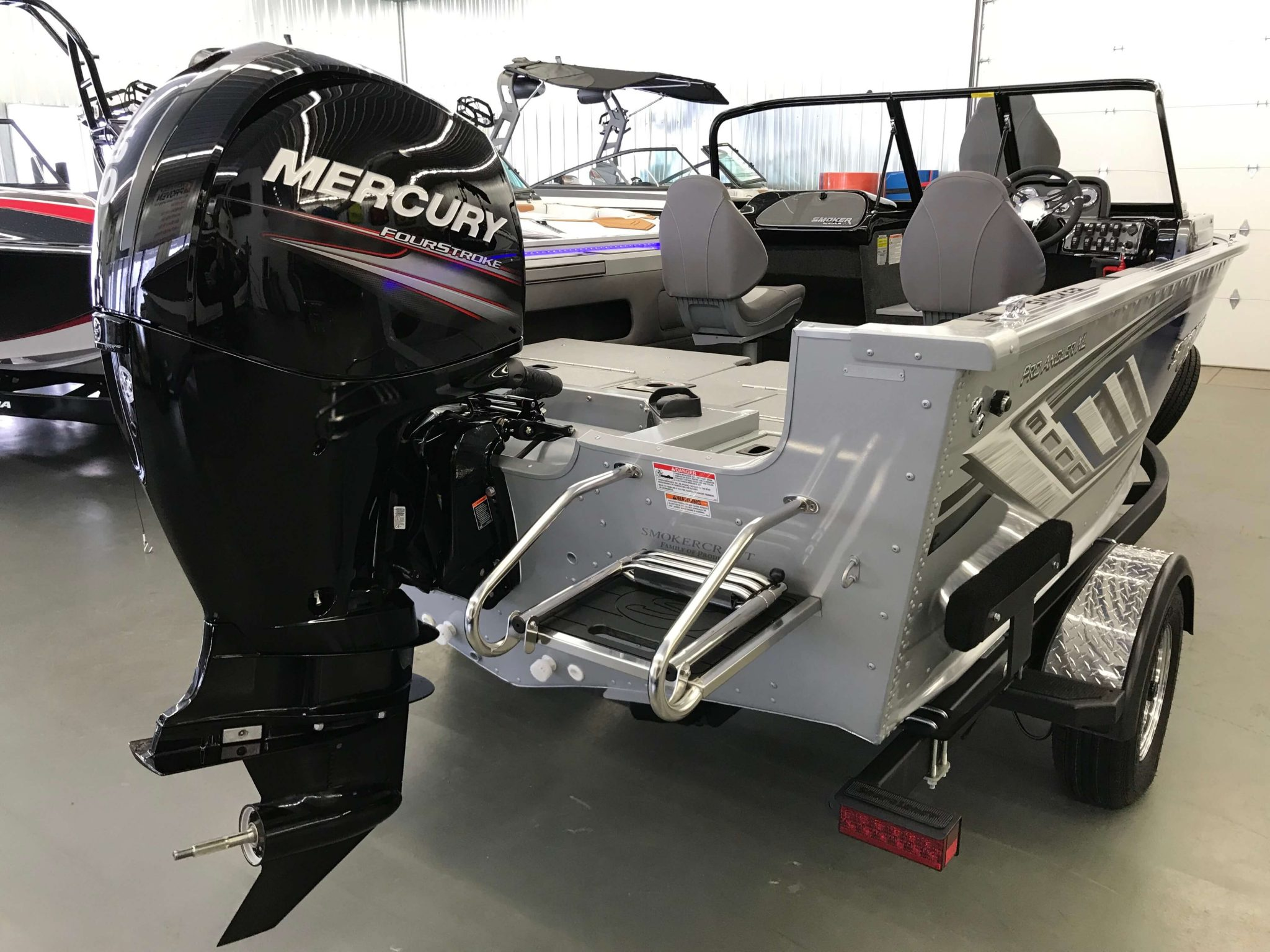 2019 Smoker Craft 182 Pro Angler XL Mercury 150HP Motor 1