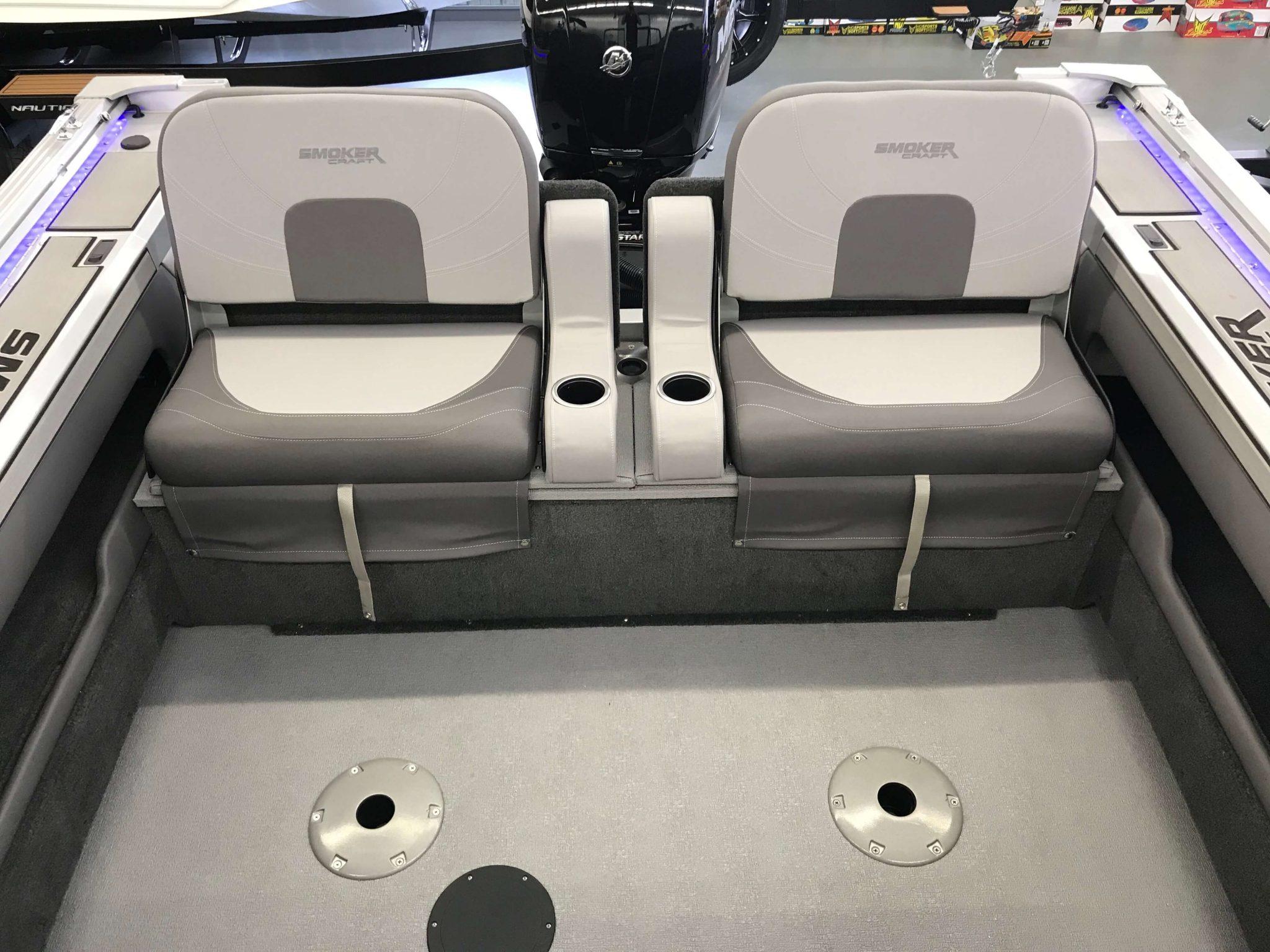 2019 Smoker Craft 182 Pro Angler XL Rear Flip-Down Seating