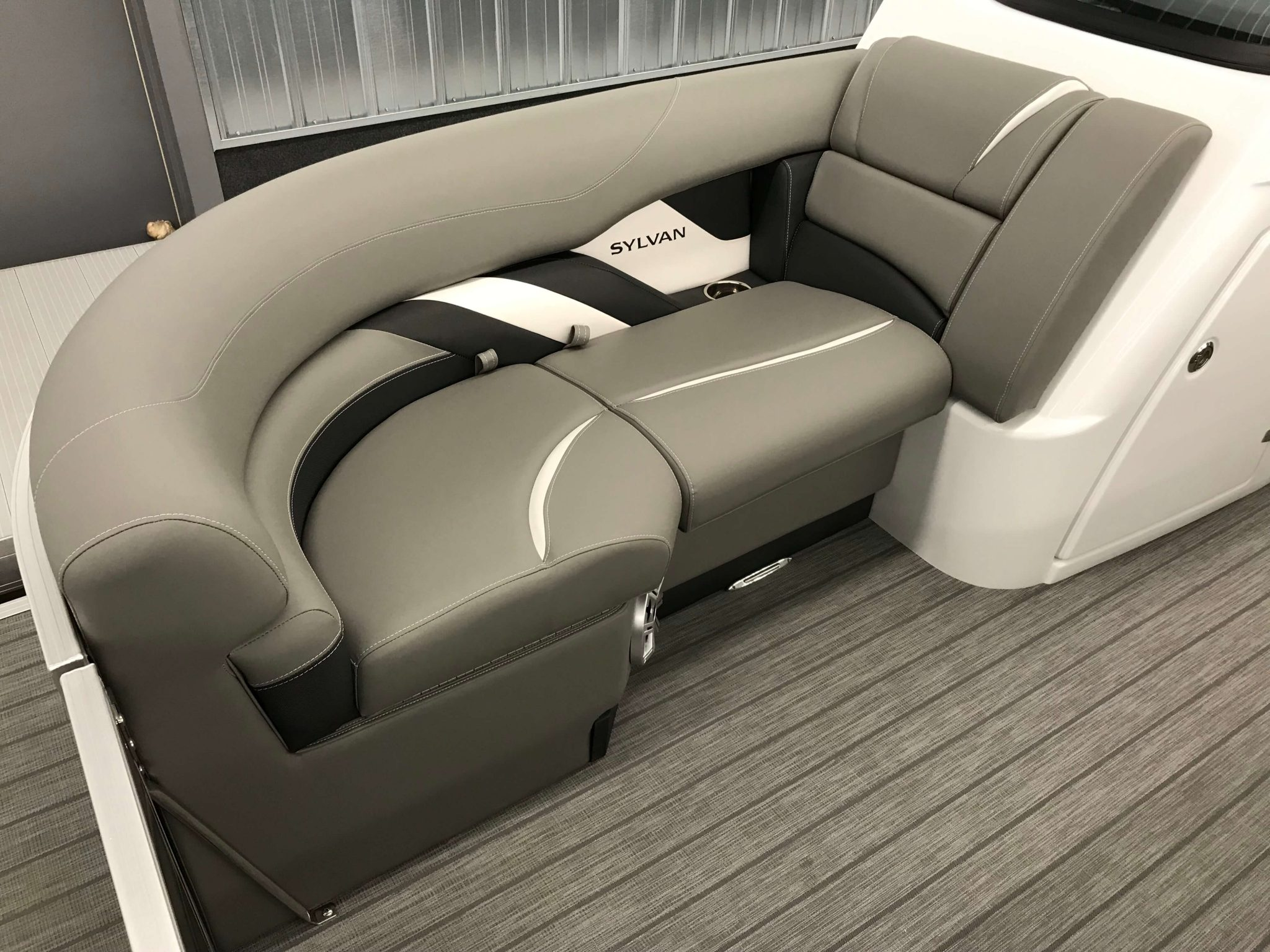 2019 Sylvan S3 Cruise Tritoon Interior Bow Seating 2
