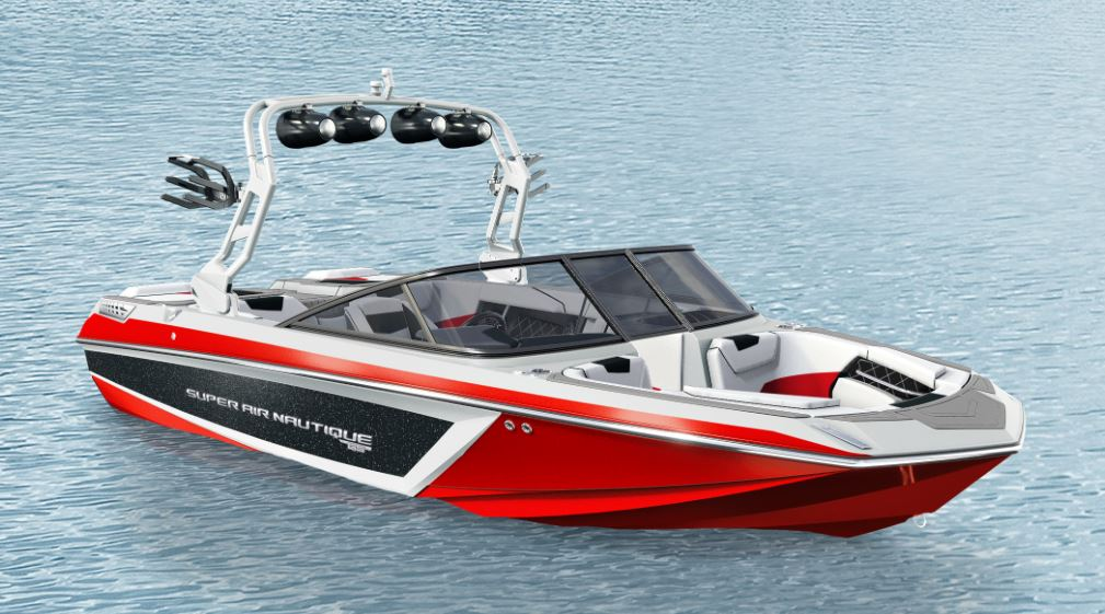 2019 Nautqiue GS20 Jet Black Metal Flake, Victory Red, And White 2