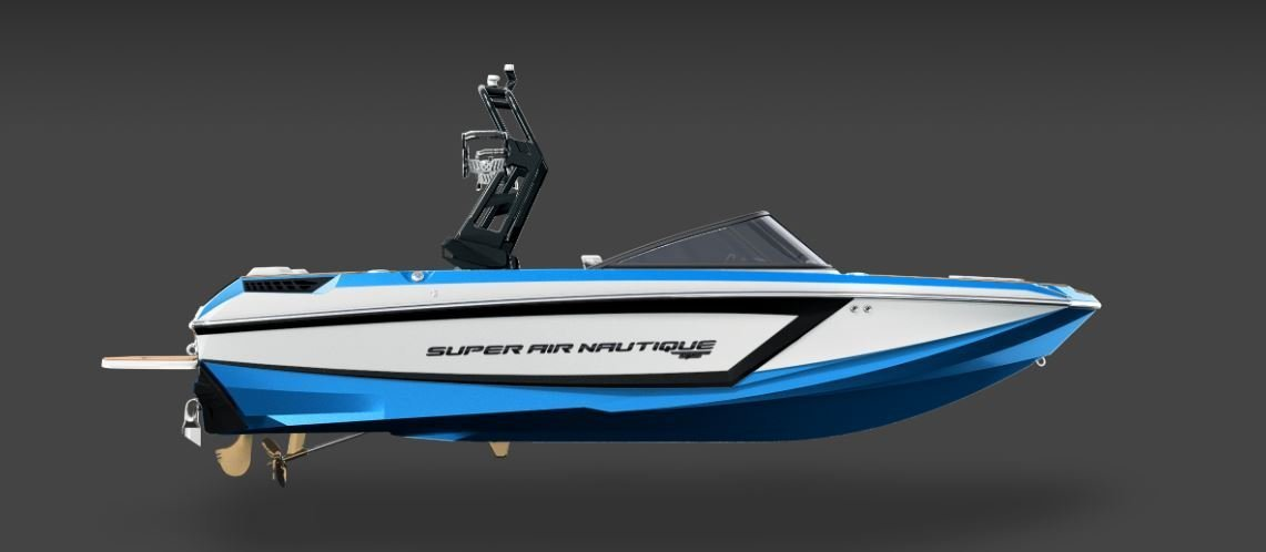 2019 Nautique GS20 Masters Blue, Black, And White 2