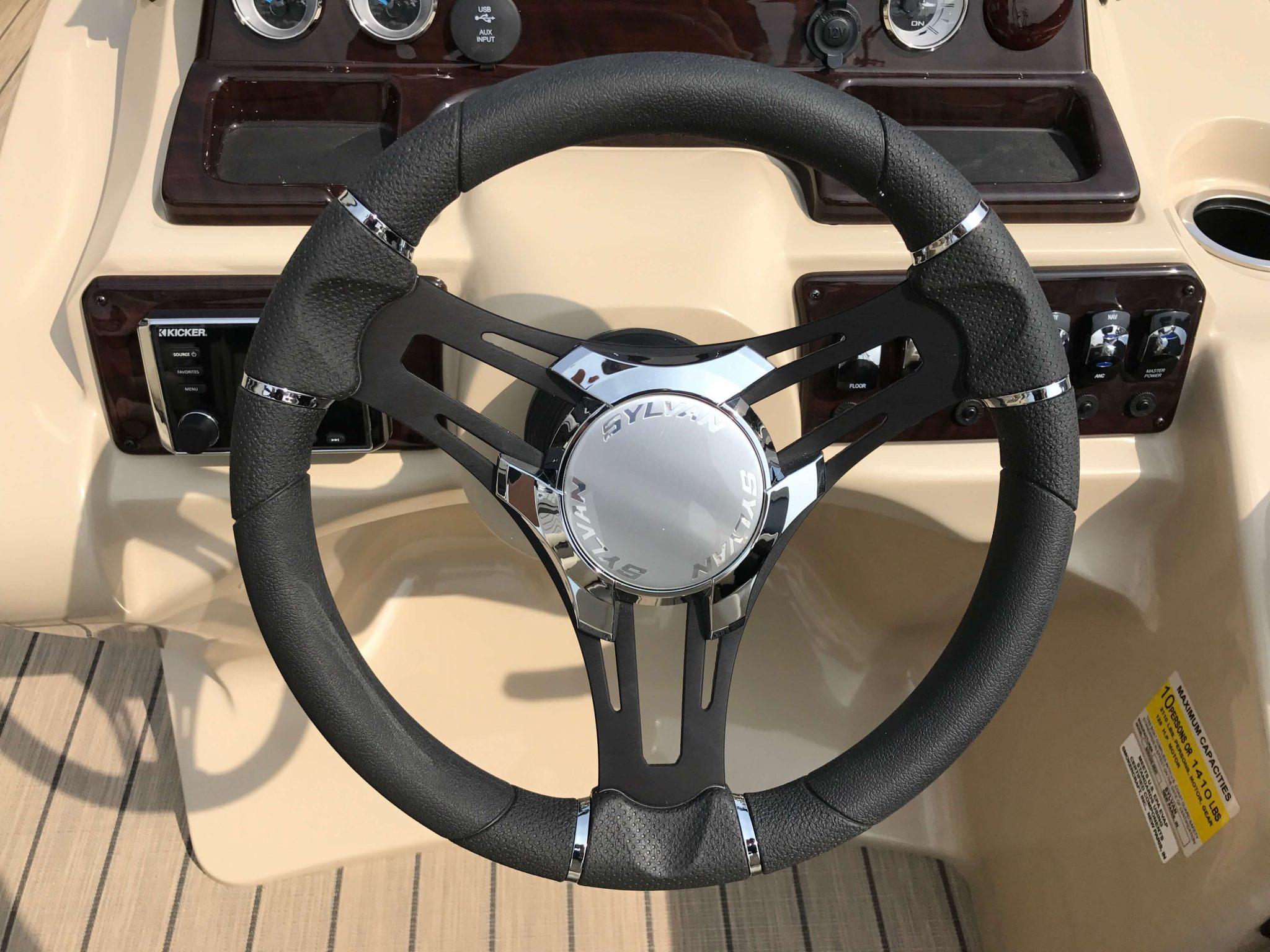 2019 Sylvan 8520 LZ LE Steering Wheel