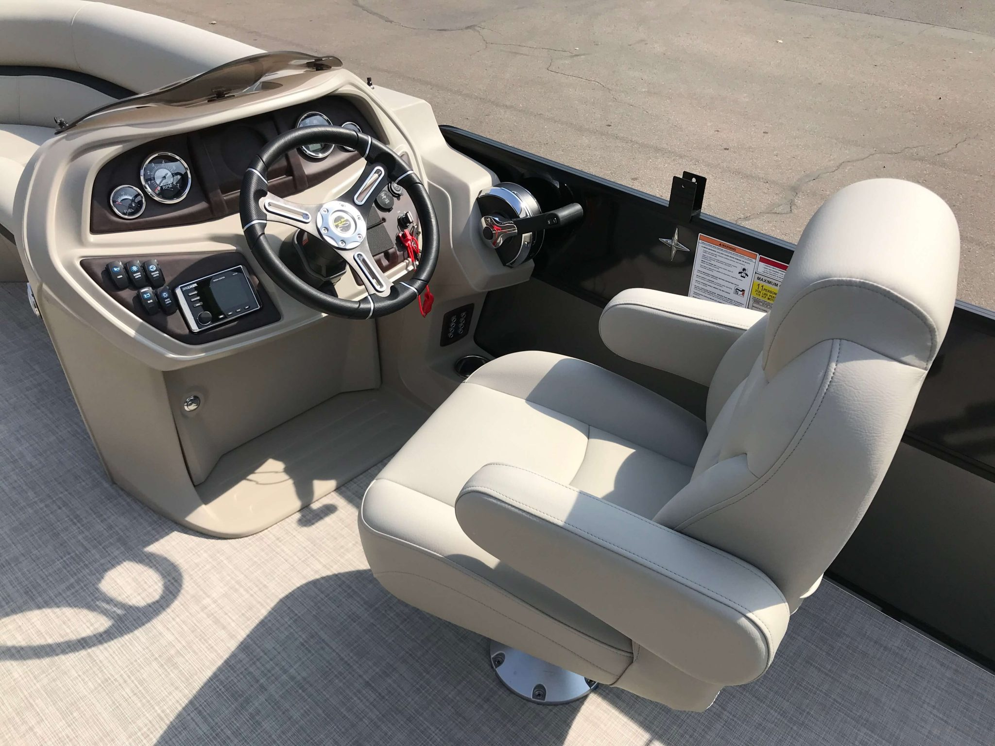 2019 Berkshire 22CL CTS Helm And Captains Chair