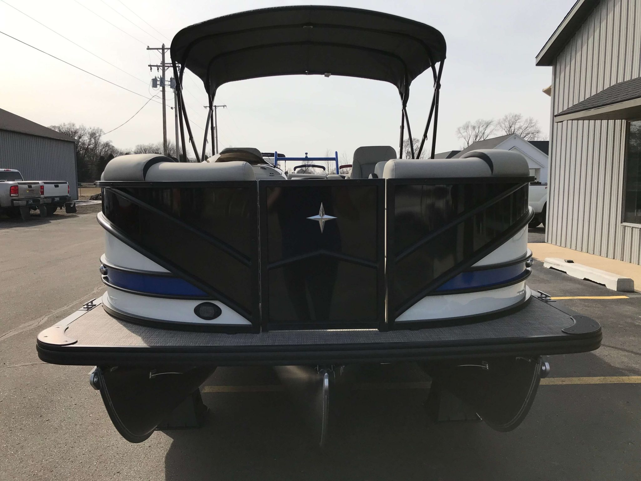 2019 Berkshire 23RFX Bimini Top 2