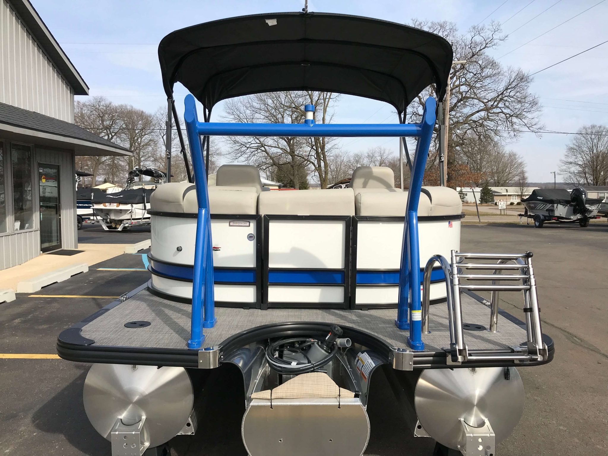 2019 Berkshire 23RFX Bimini Top 4