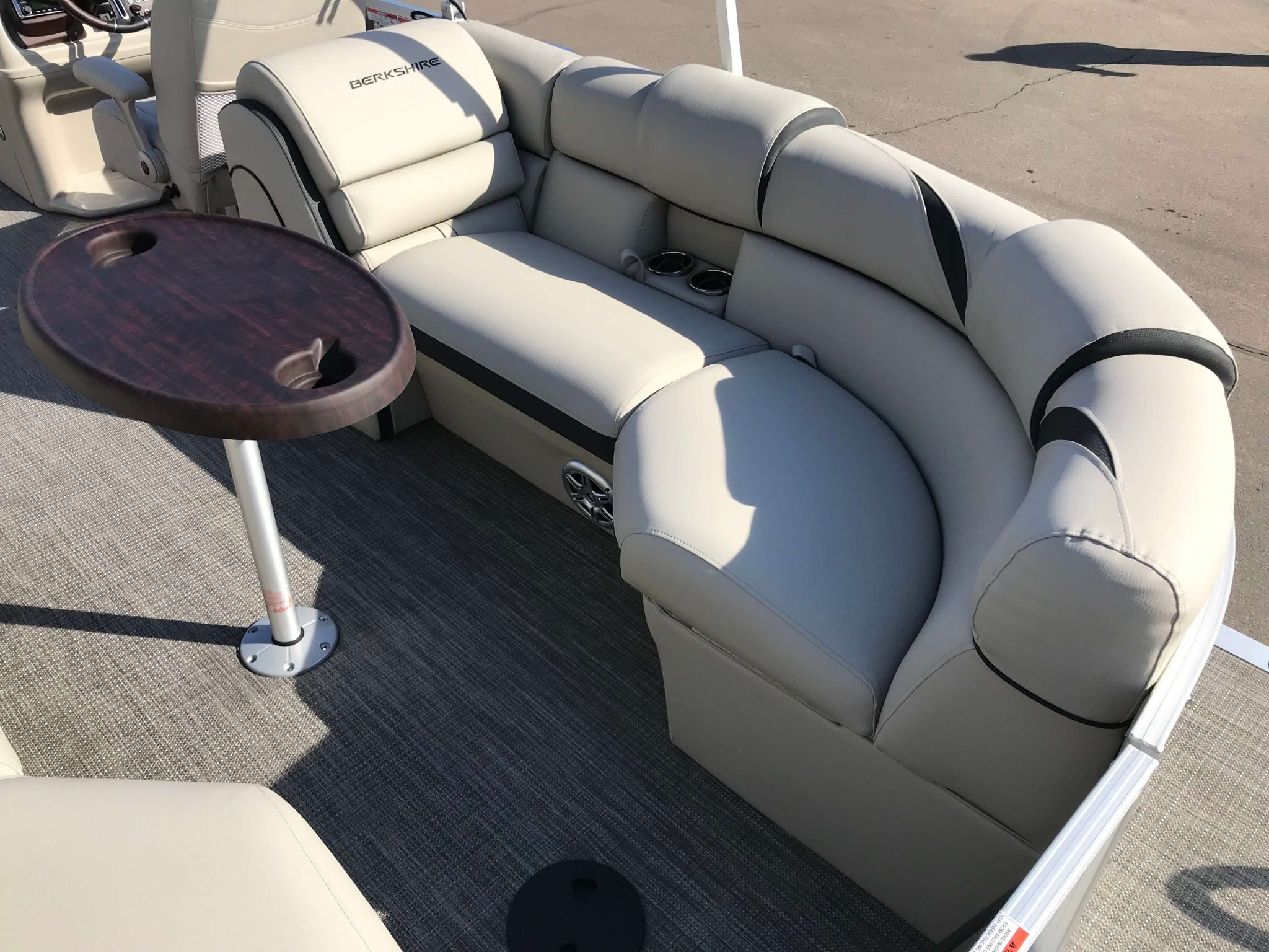 2019 Berkshire 23RFX STS Seating 2