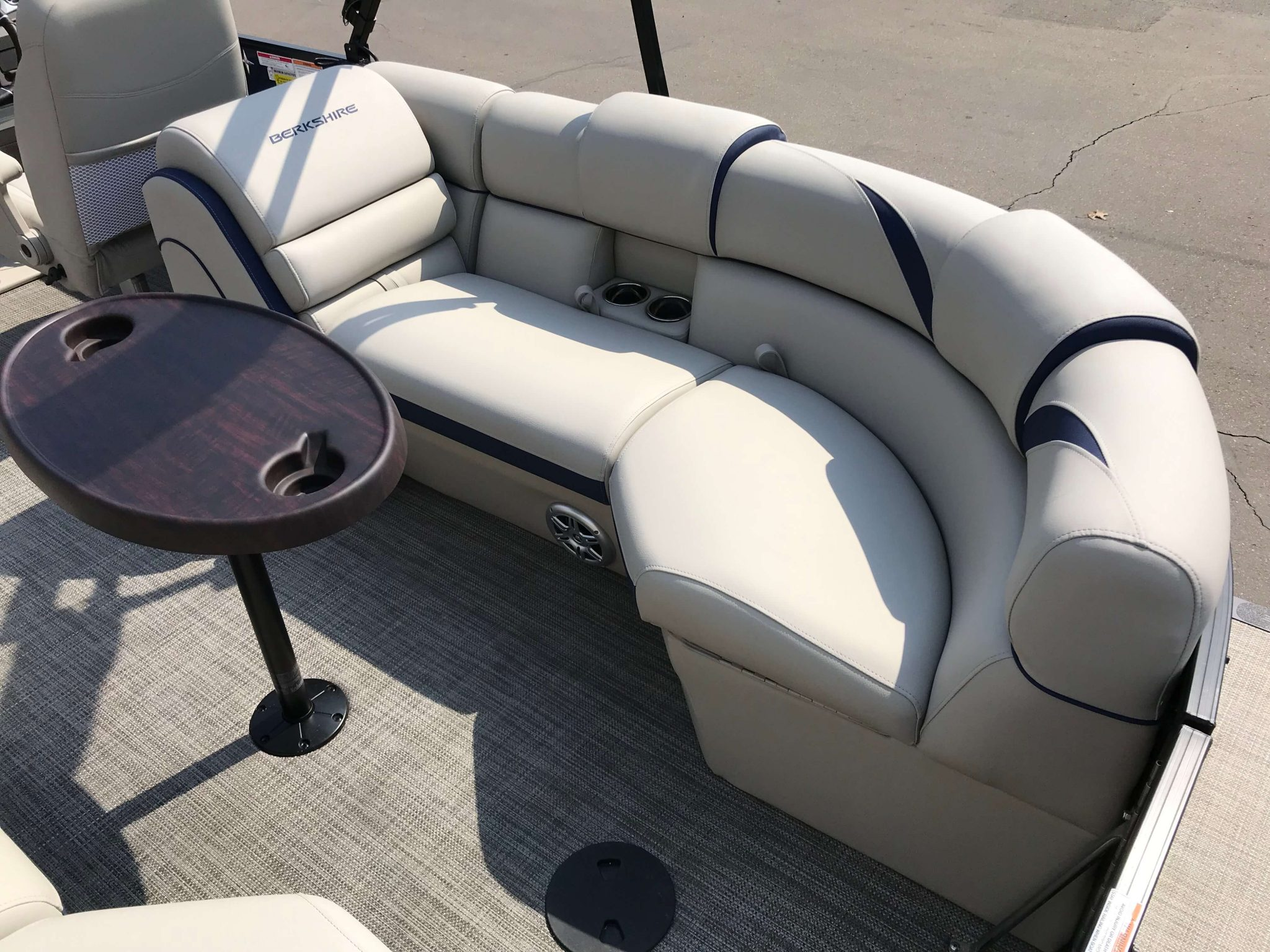 2019 Berkshire 23RFX STS Tritoon Seating 2