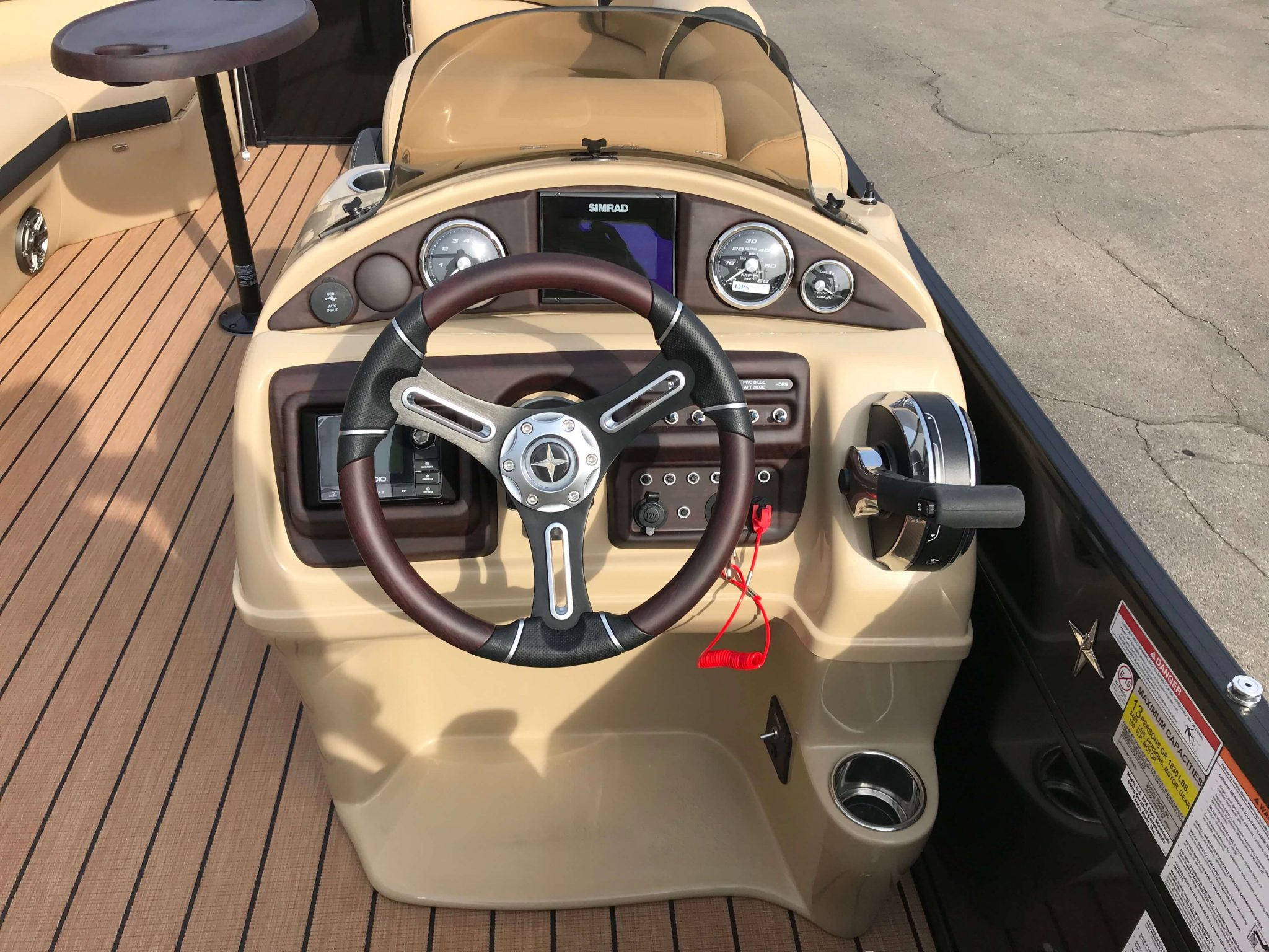 2019 Berkshire 25E STS Helm And Dash 2