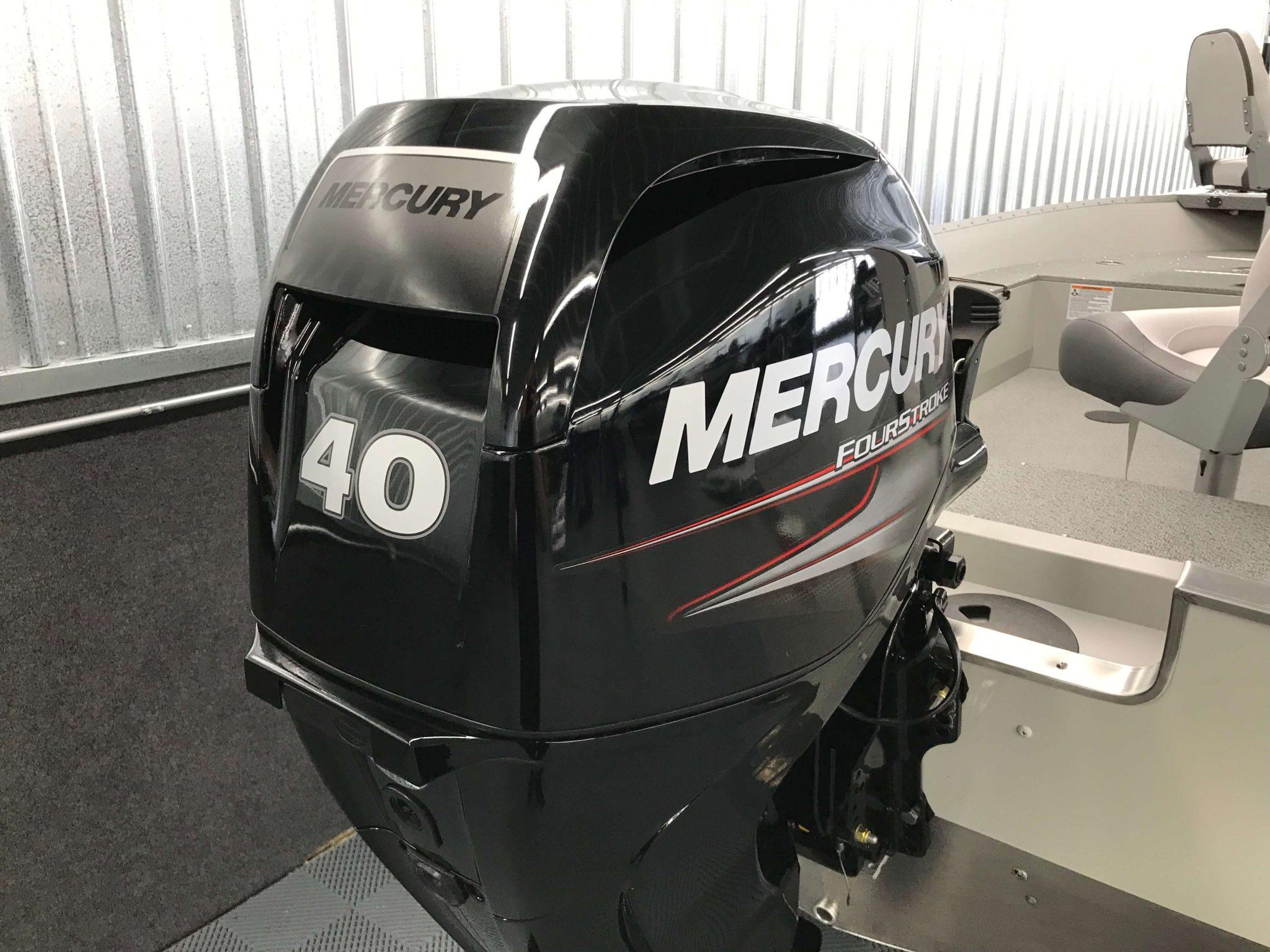 2019 Smoker Craft 16TL Angler Mercury Motor 2