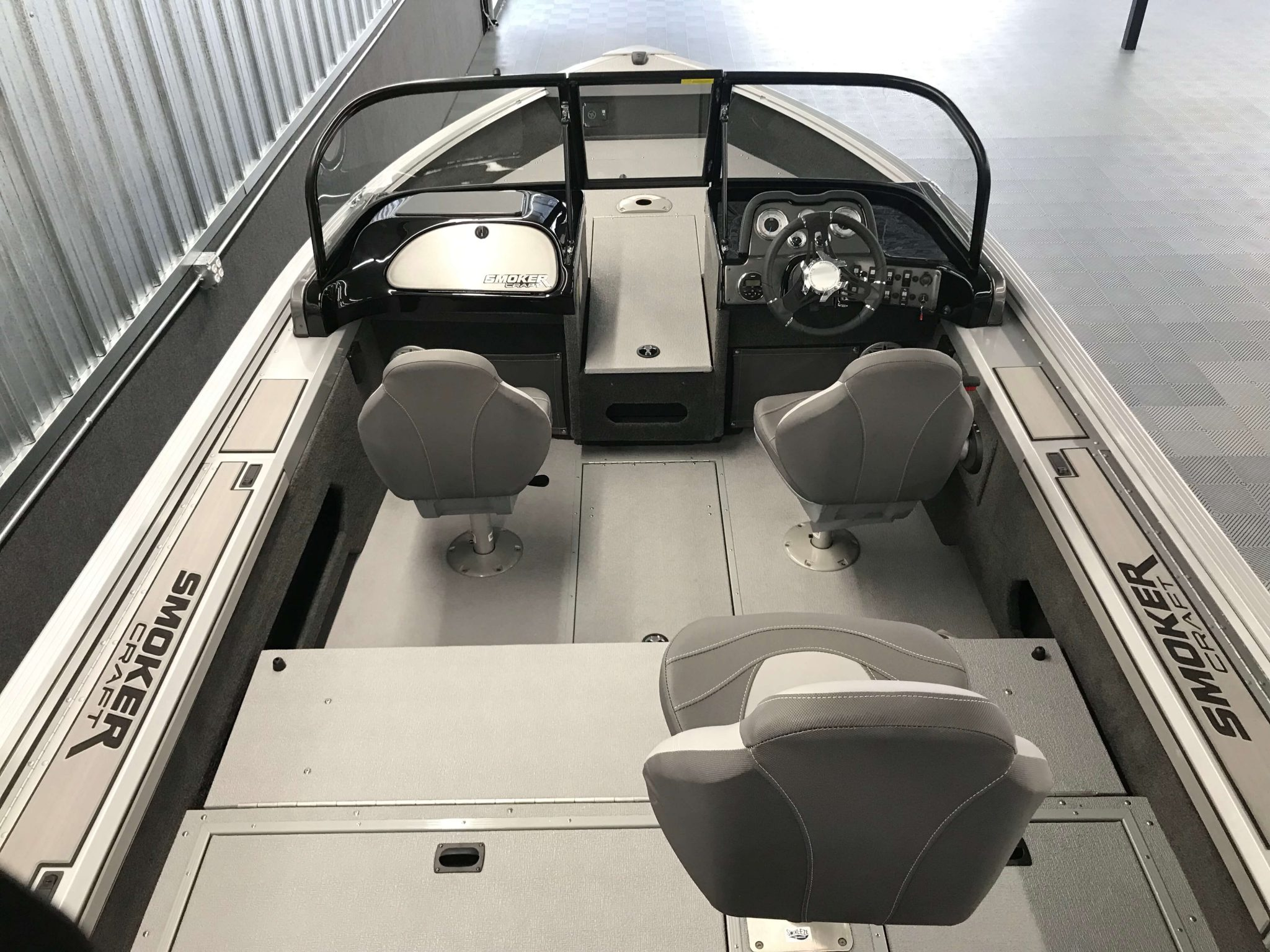 2019 Smoker Craft 172 Pro Angler XL Cockpit Layout 1