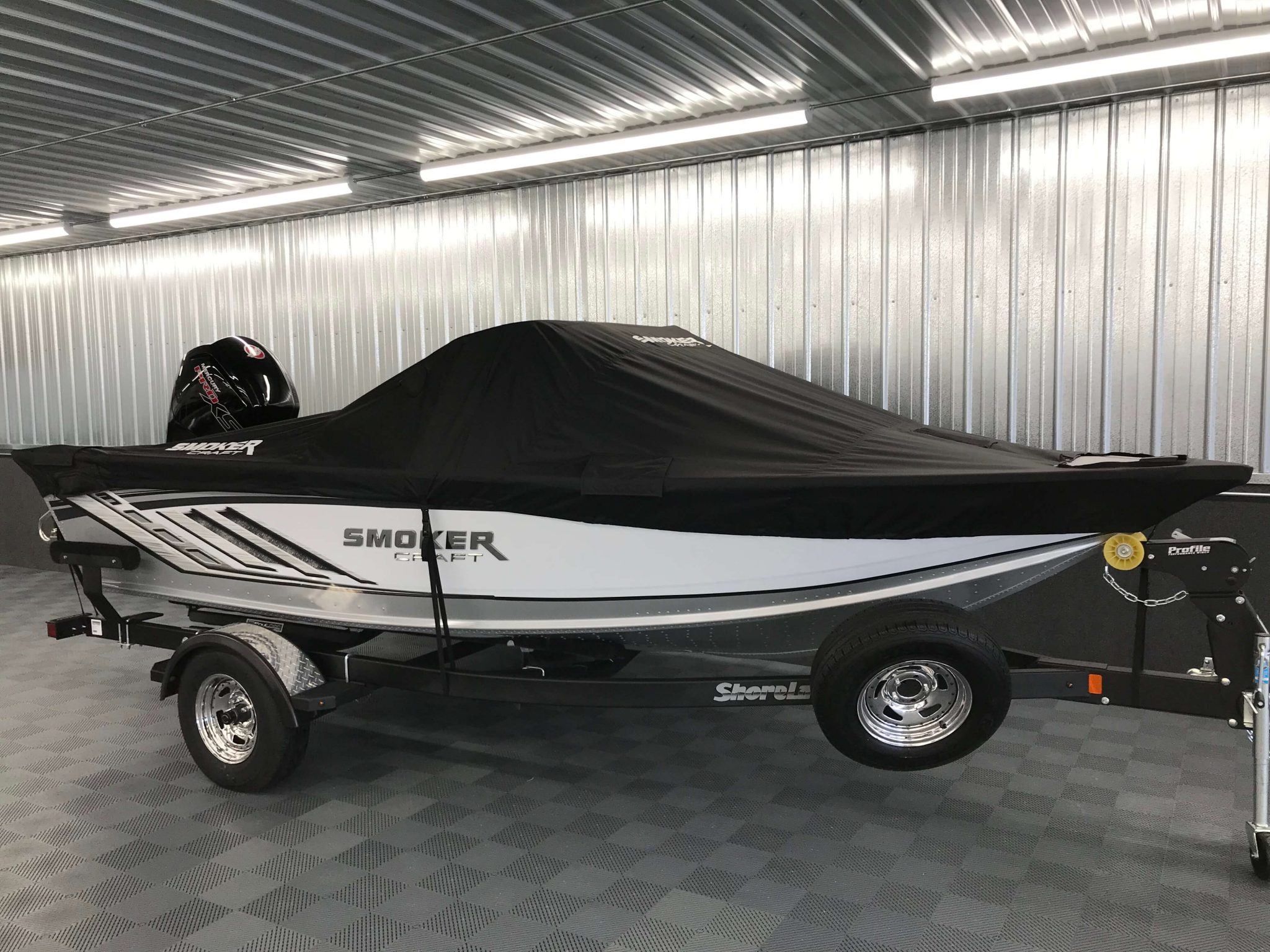 2019 Smoker Craft 172 Pro Angler XL Cover 1