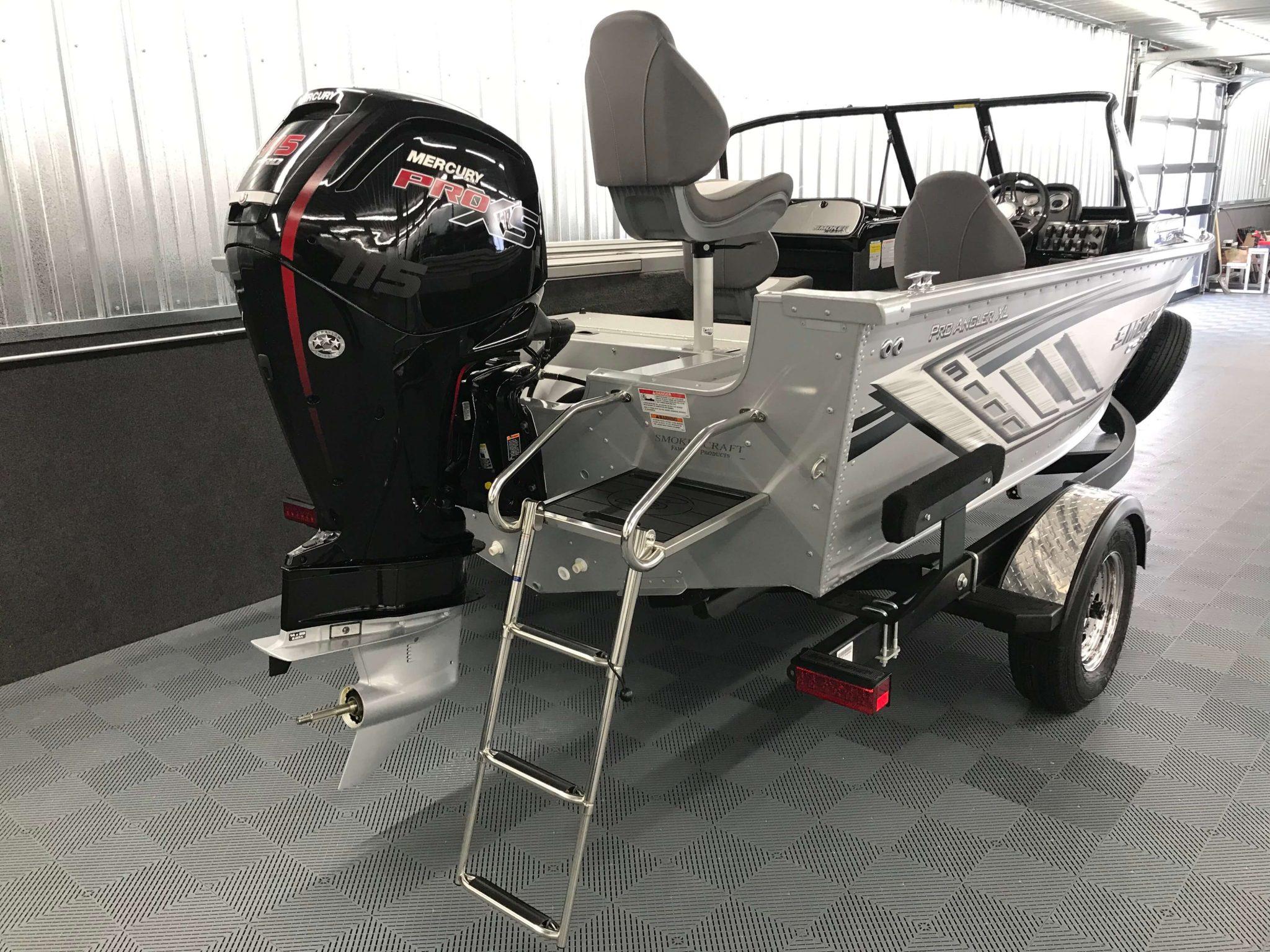 2019 Smoker Craft 172 Pro Angler XL Mercury 115 Pro XS Motor 1