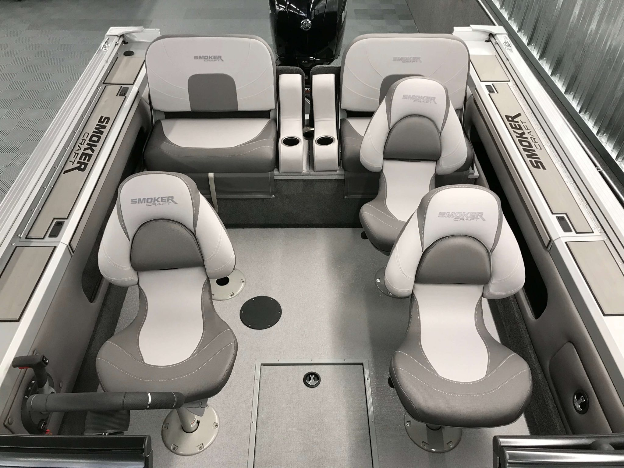 2019 Smoker Craft 182 Pro Angler XL Cockpit Layout