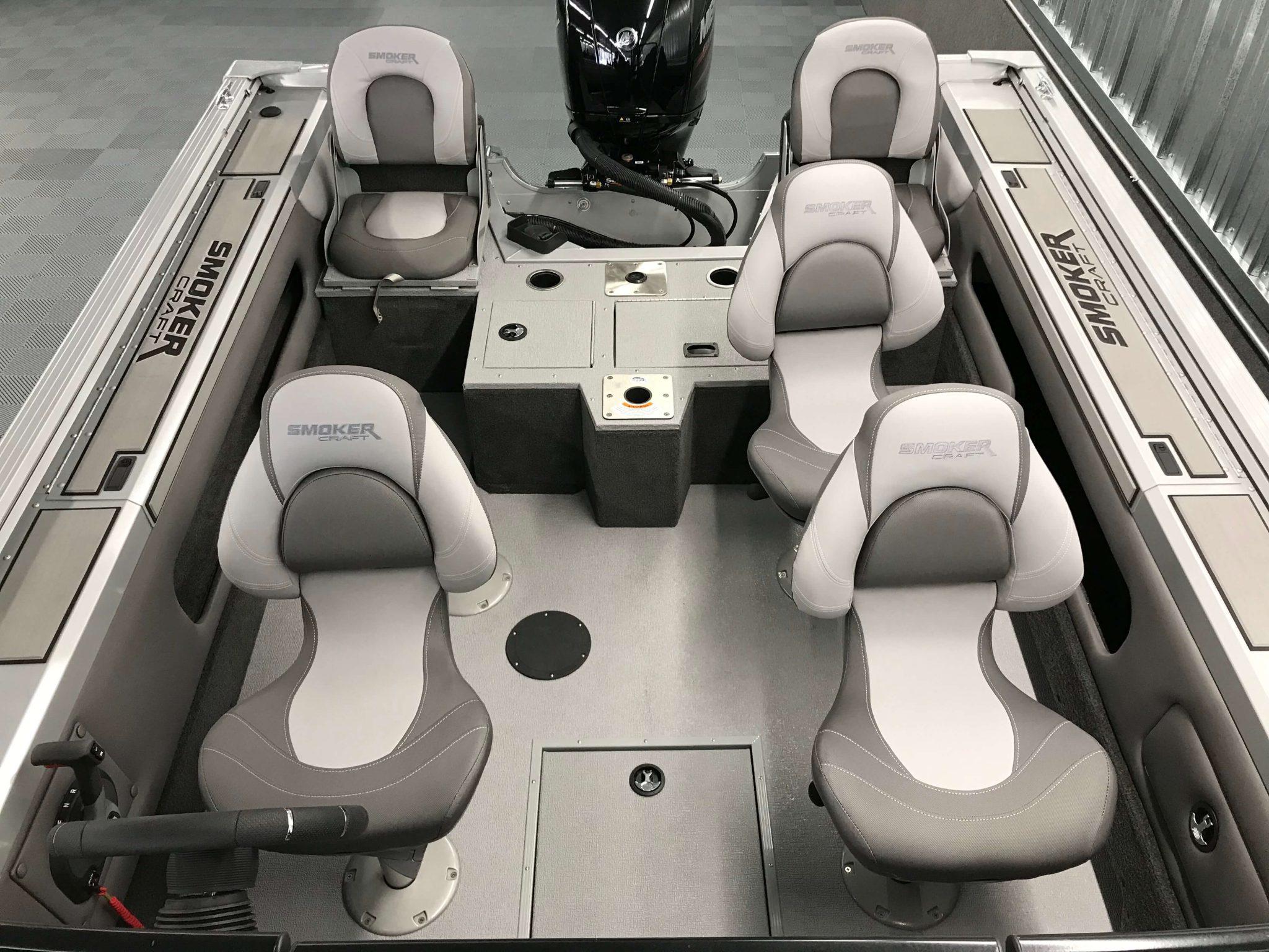 2019 Smoker Craft 182 Ultima Cockpit Layout