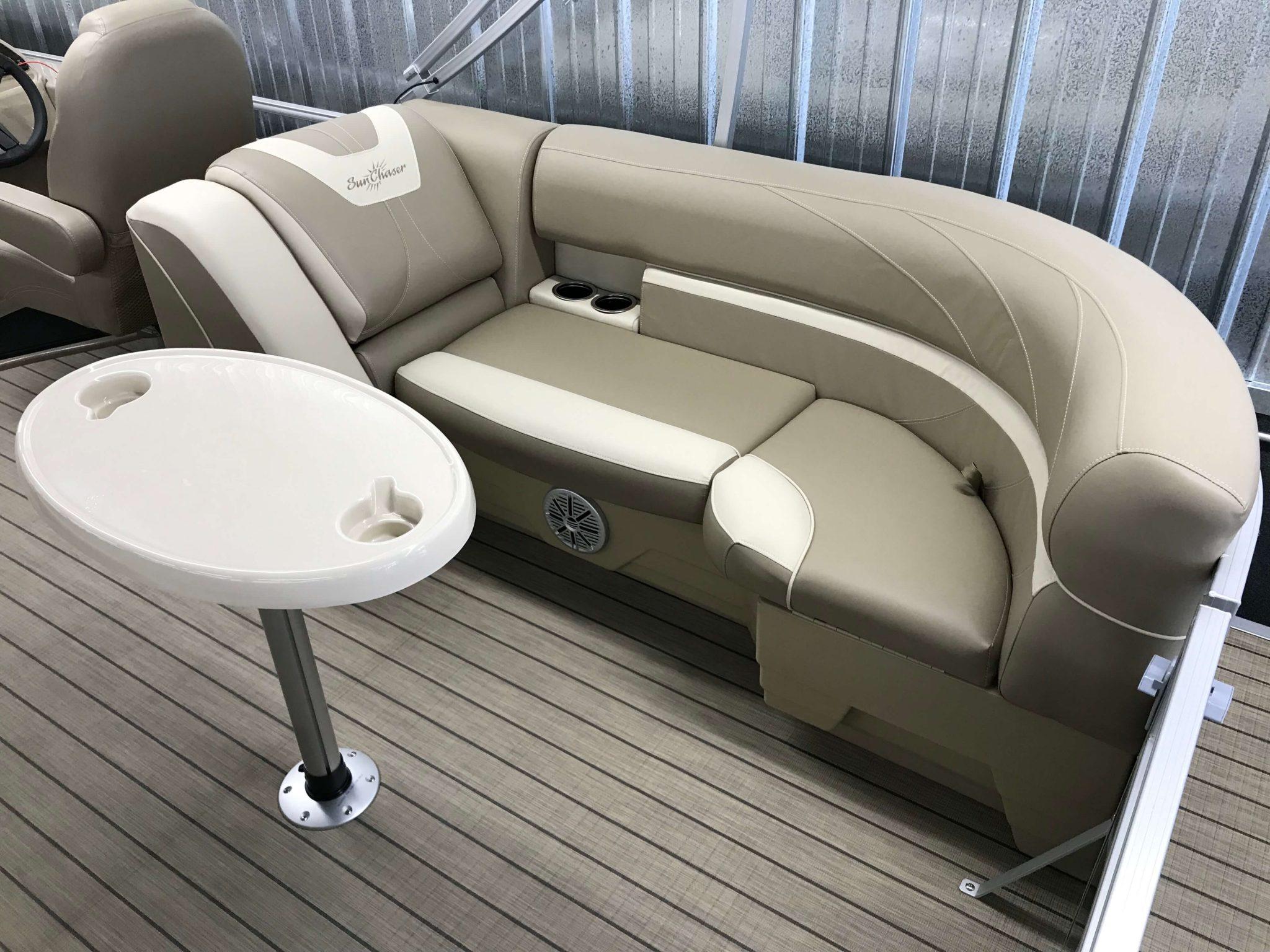2019 SunChaser Geneva 22 LR Seating 2