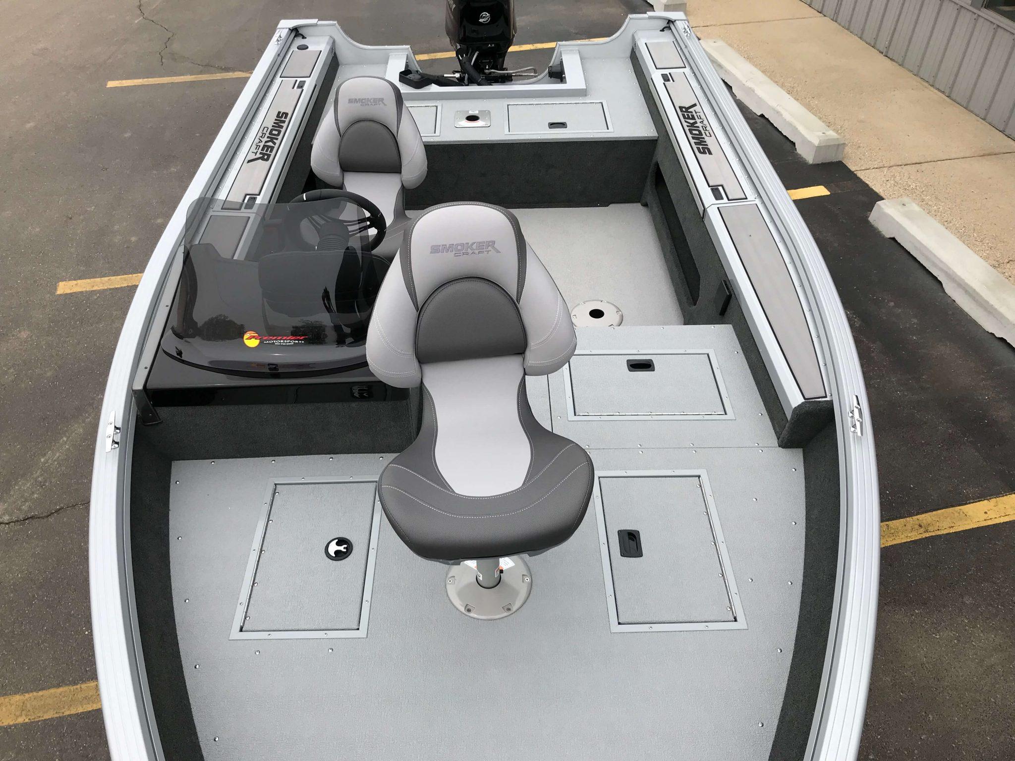2019 Smoker Craft 161 Pro Angler XL Interior Layout 1