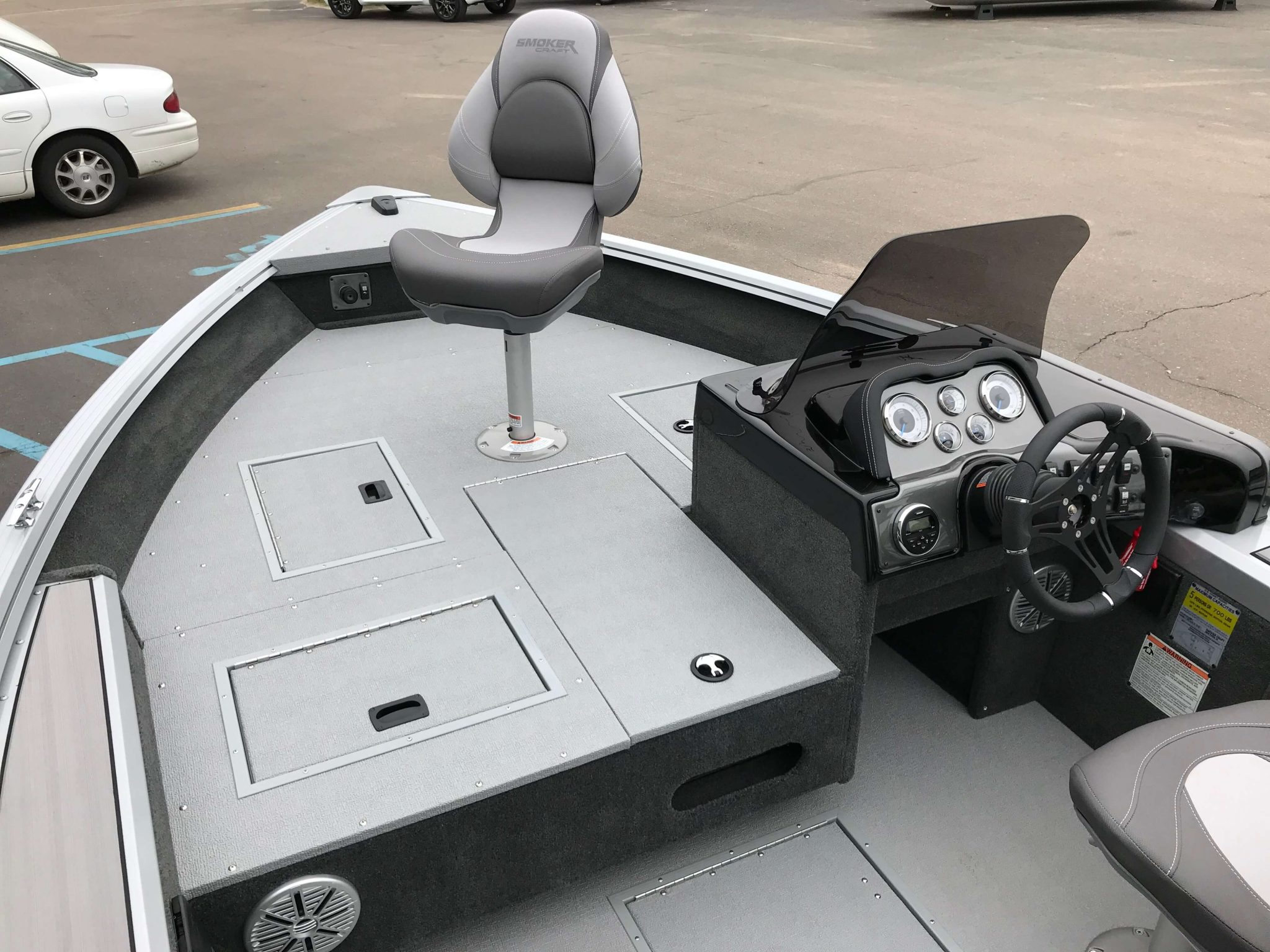 2019 Smoker Craft 161 Pro Angler XL Interior Layout 2