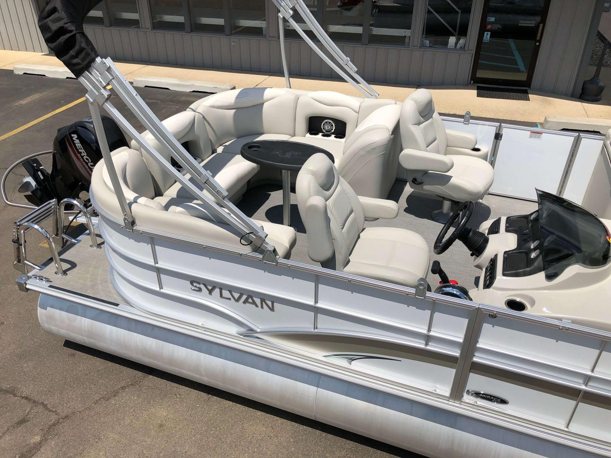 2016 Sylvan 8520 LZ LES Pontoon Boat 4