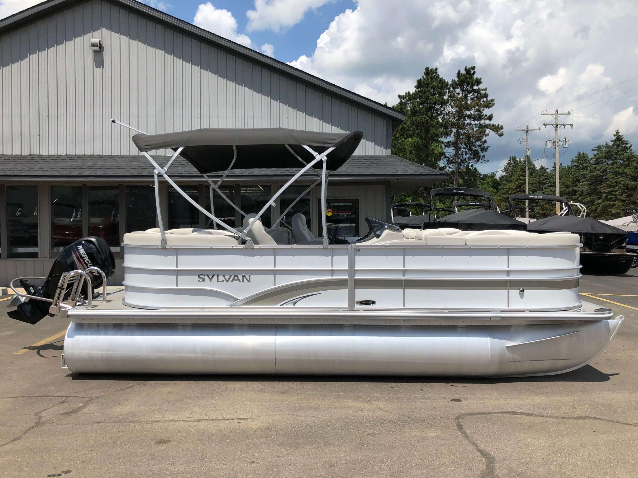 2016 Sylvan 8520 LZ LES Pontoon Boat 9