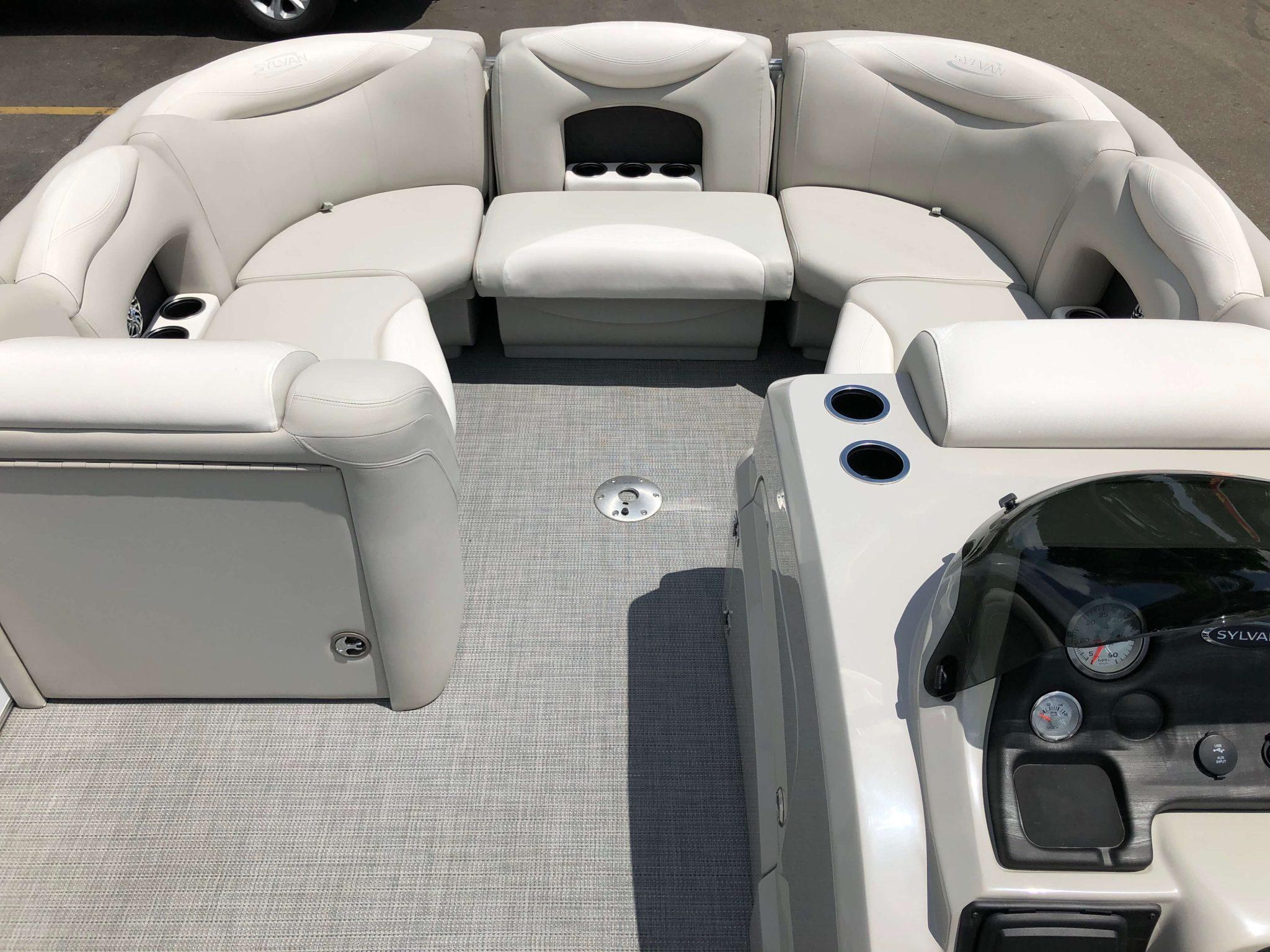 2016 Sylvan 8520 LZ LES Pontoon Boat Layout 5